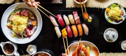 restaurants à Sushi