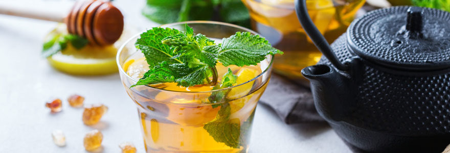 Trouver des infusions et thés naturels