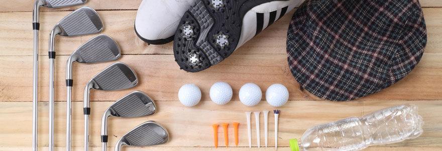 Matériel pour golfeurs en ligne